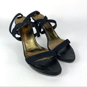 Donald J Pliner Womens Slide Heels 6.5 M Black